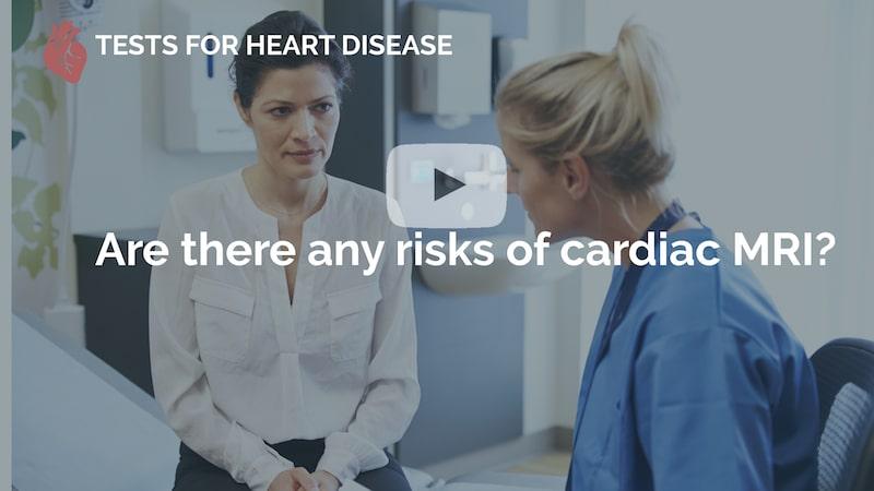 are there any risks of cardiac mri many beats london