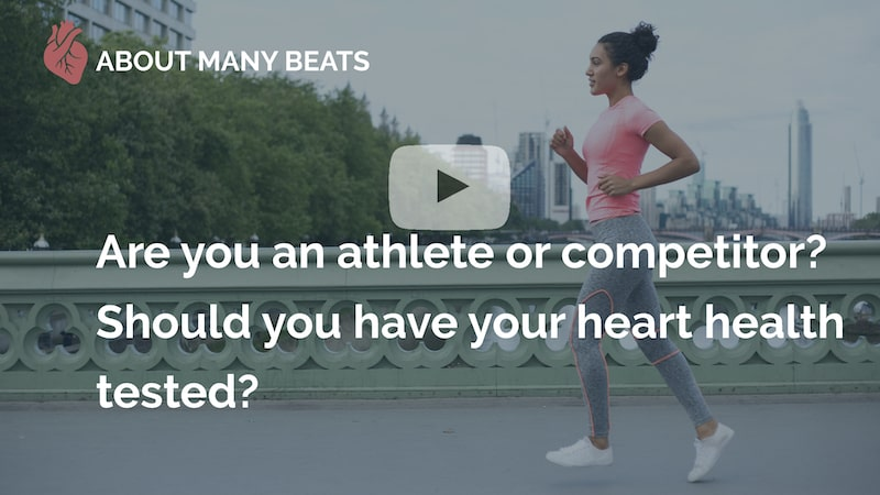 Are you an athlete or competitor should you have your heart health tested many beats london