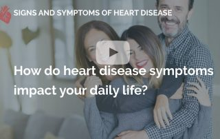 How do heart disease symptoms impact your daily life many beats london