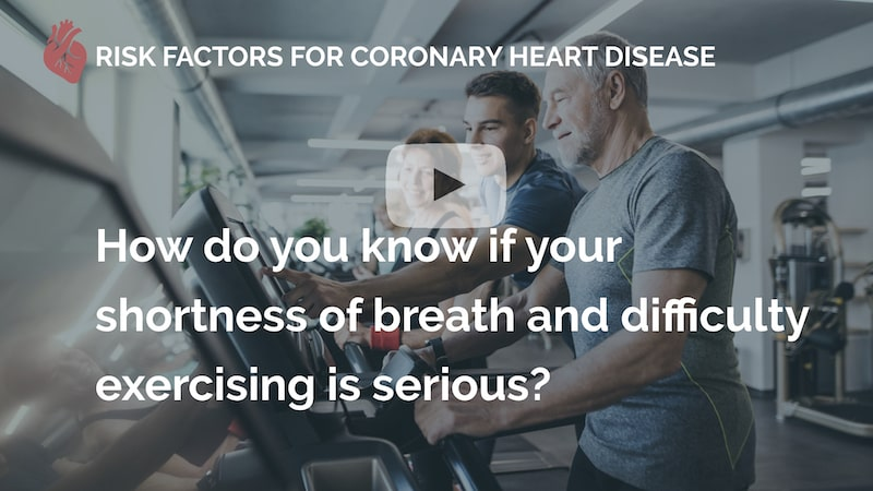 how do you know if your shortness of breath and difficulty exercising is serious many beats london