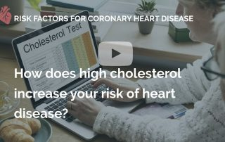 How does high cholesterol increase your risk of heart disease many beats london