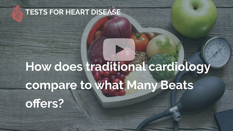 how does traditional cardiology compare to what many beats offers london