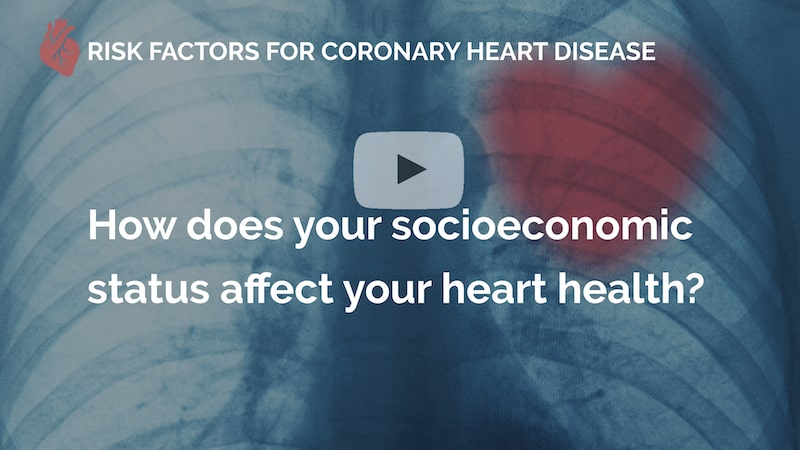 How does your socioeconomic status affect your heart health many beats london