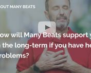 How will Many Beats support you in the long term if you have heart problems many beats london
