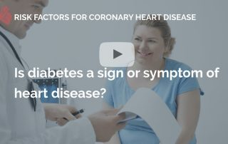 Is diabetes a sign or symtom of heart disease many beats london